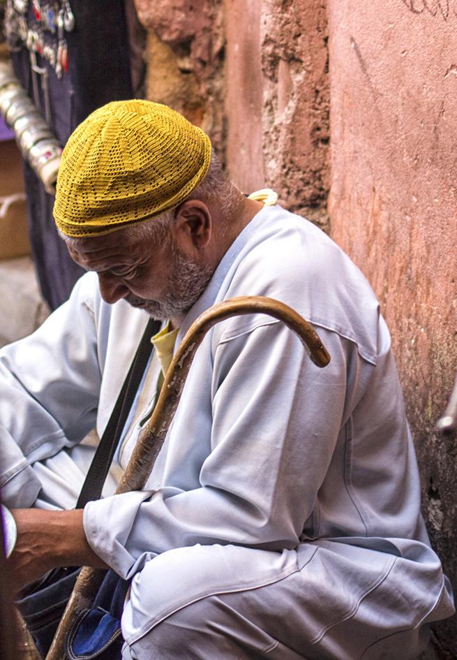 hombre de la medina