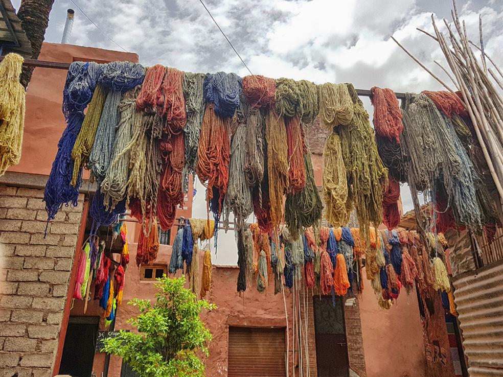 lanas colores