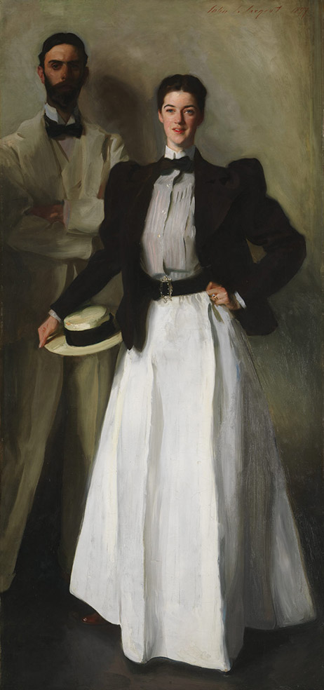John Singer Sargent. Mr. And Mrs. I. N. Phelps Stokes. 1897. Metropolitan Museum. Nueva York.