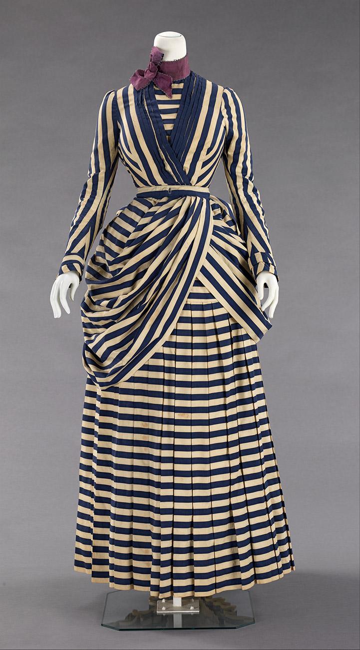 Vestido. Hacia 1885-1888. Metropolitan Museum. Nueva York.