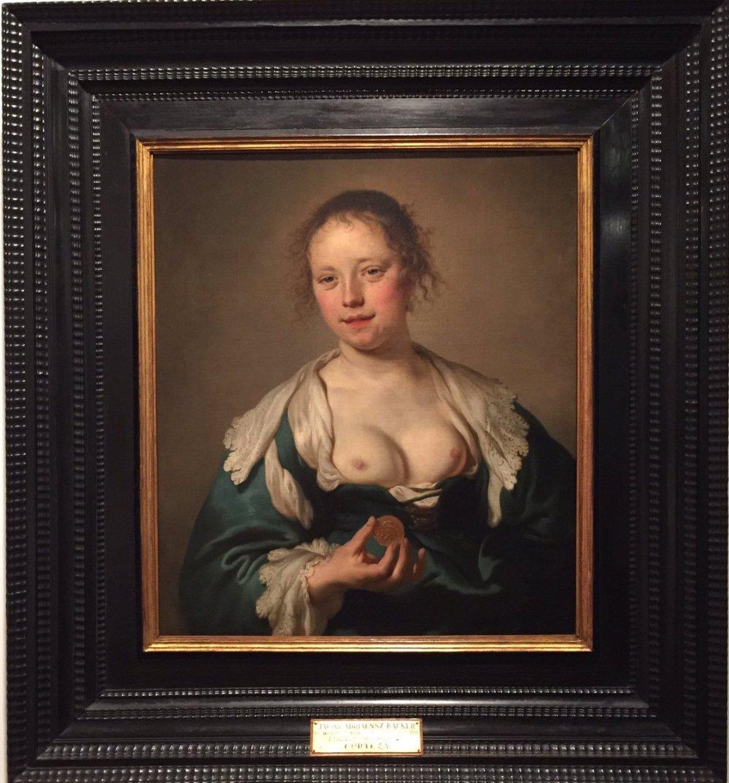 Jacob Adriaensz Backer. La cortesana. 1640. Museo de Arte Antiga. Lisboa.