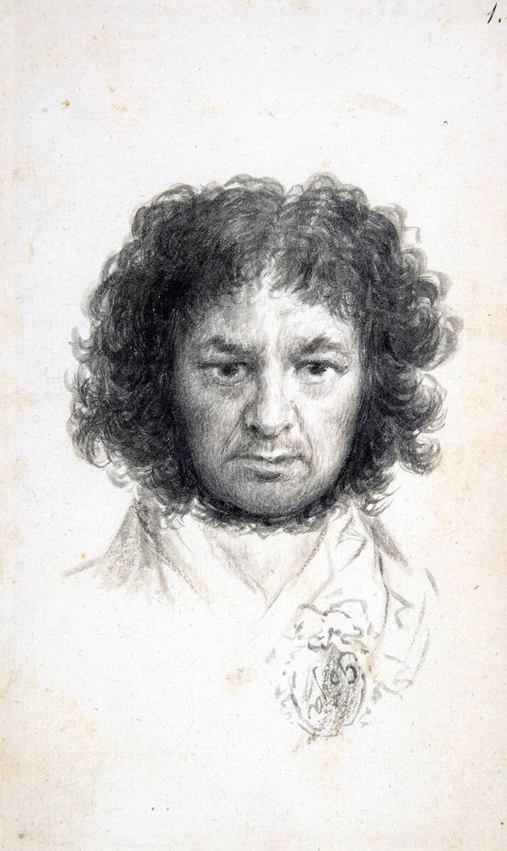 Francisco de Goya. Autorretrato. 1795. Metropolitan Museum. Nueva York.
