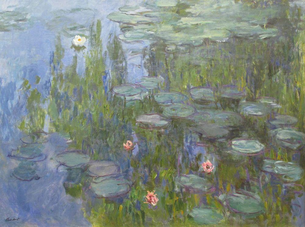 Claude Monet. Ninfeas. 1915. Nueva Pinacoteca. Munich.
