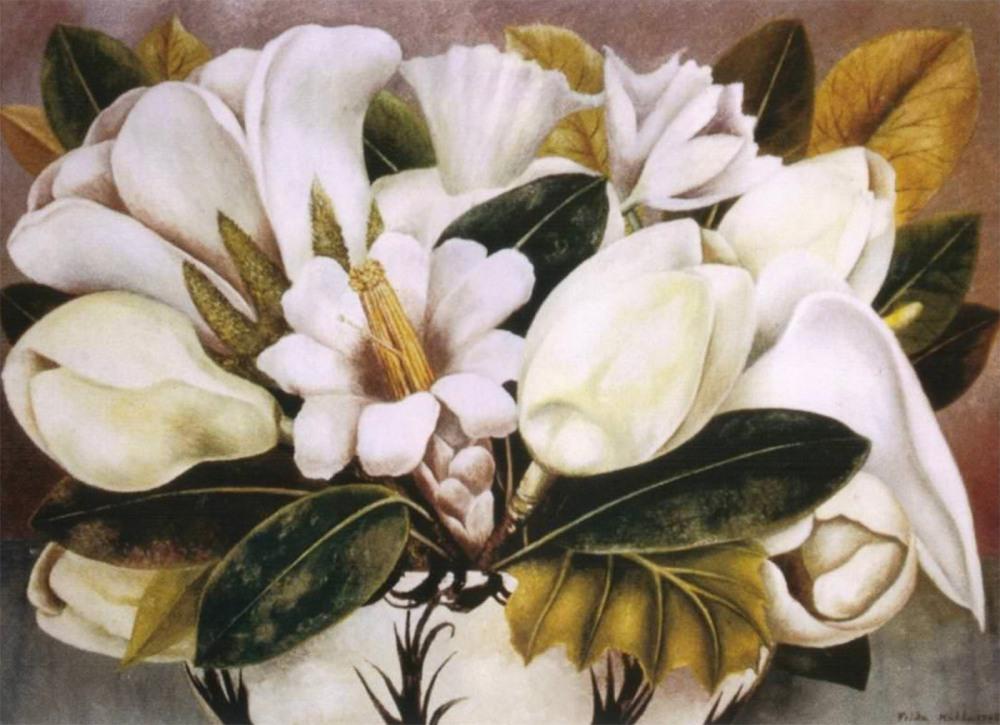 Frida Kalho. Magnolias. 1945.