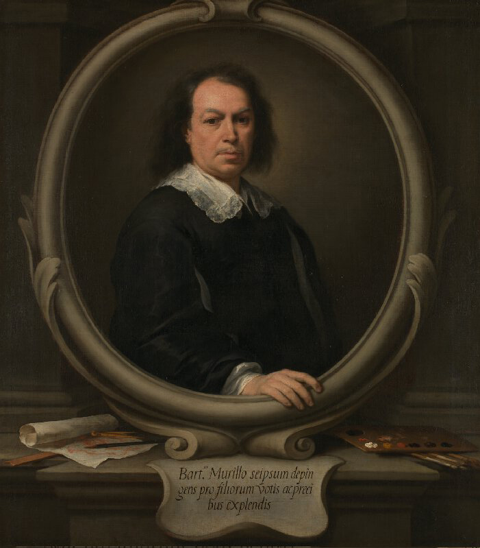 Bartolomé Esteban Murillo. Autorretrato. 1670-1673. National Gallery. Londres.