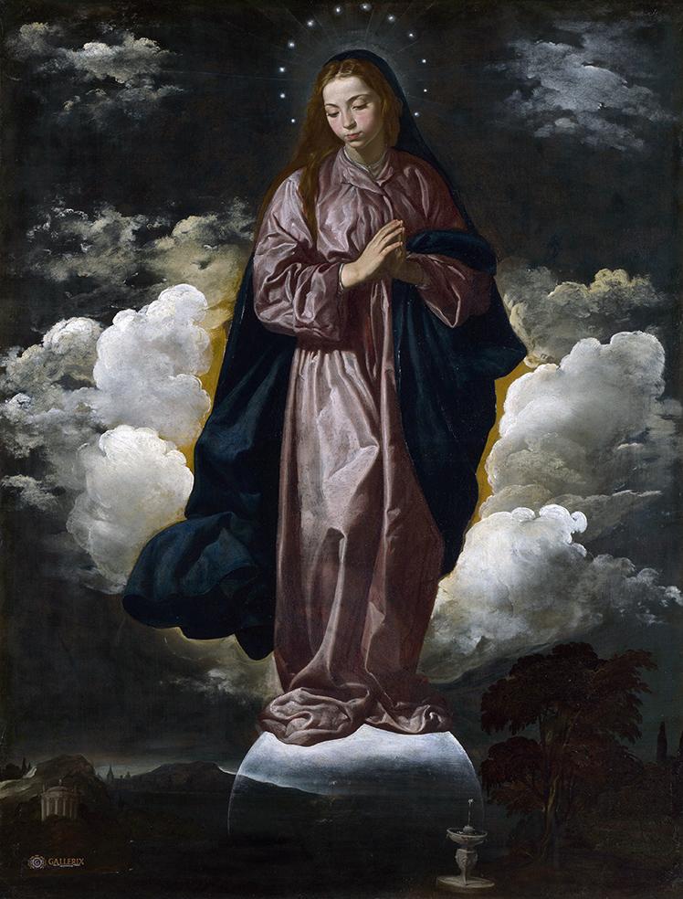 Diego Velázquez. Inmaculada Concepción. Hacia 1618. National Gallery. Londres.