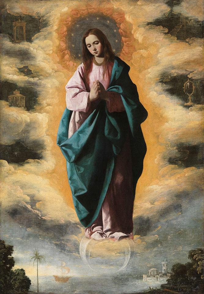 Francisco de Zurbarán. Inmaculada Concepción. 1628-1630. Museo del Prado.