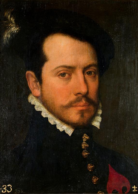 Bartolomé González. Caballero de la orden de Santiago. Finales del siglo XVI. Museo Nacional del Prado.