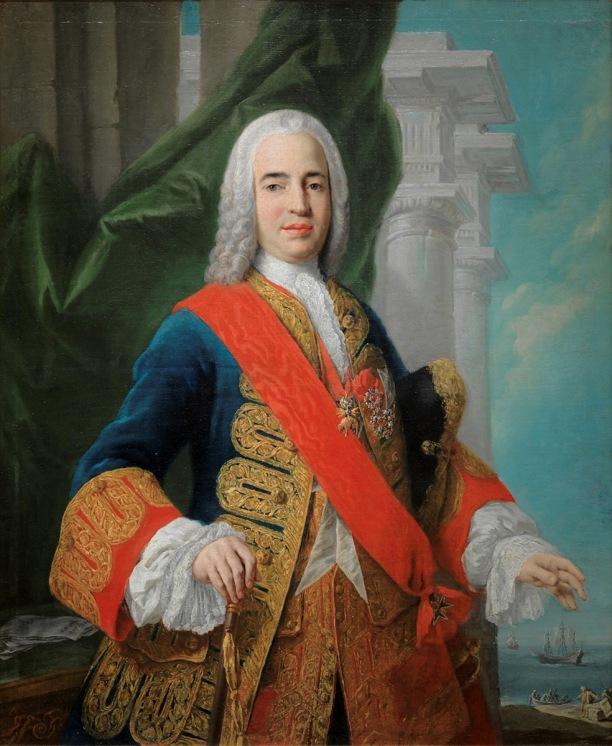 Giacopo Amigoni. Don Zenón de Somodevilla y Bengoechea, marqués de la Ensenada. Hacia 1750. Museo Nacional del Prado