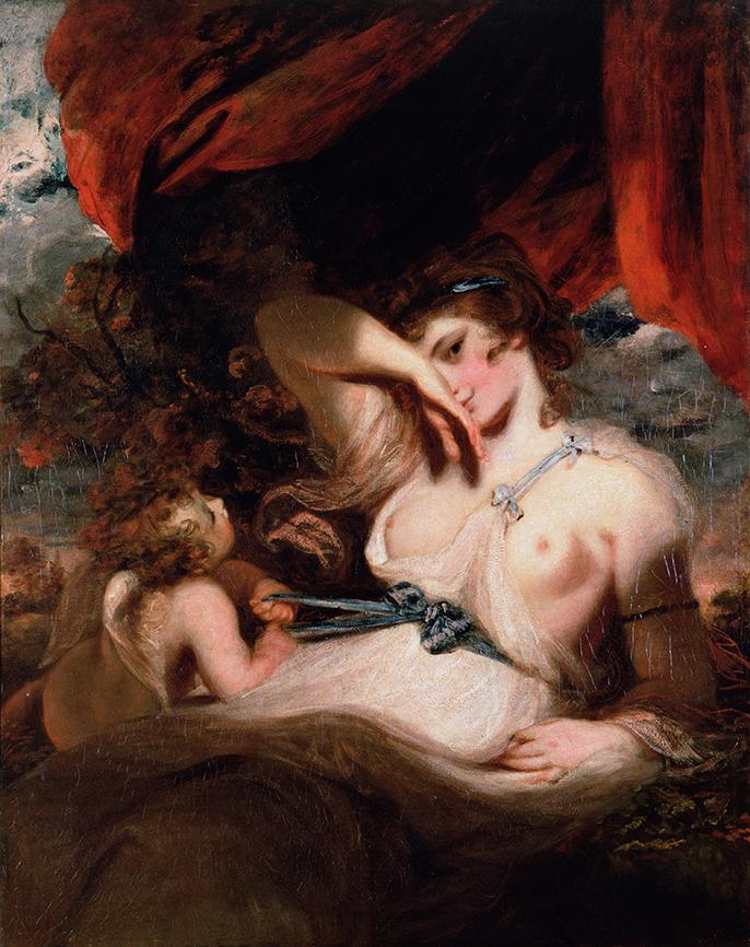 Sir Joshua Reynolds. Cupido desatando el cinto de Venus. 1788. Museo del Hermitage.
