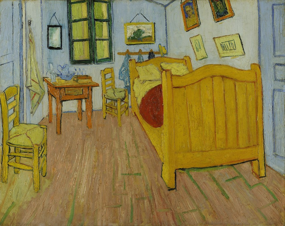 Vincent van Gogh. El dormitorio. 1888. Museo Van Gogh.