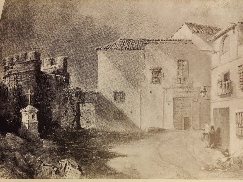 Richard Ford. Casa de Murillo. 1831.
