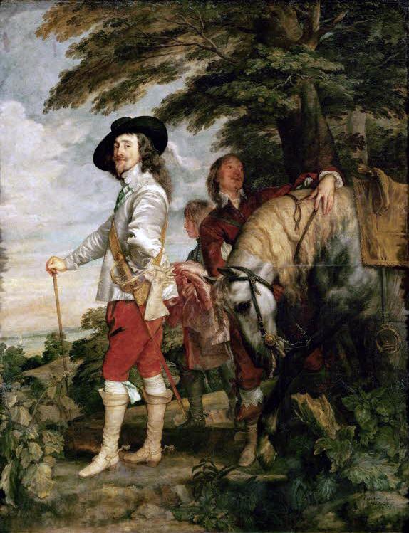 Anton Van Dyck. Carlos I cazador. Hacia 1635. Museo del Louvre.jpg