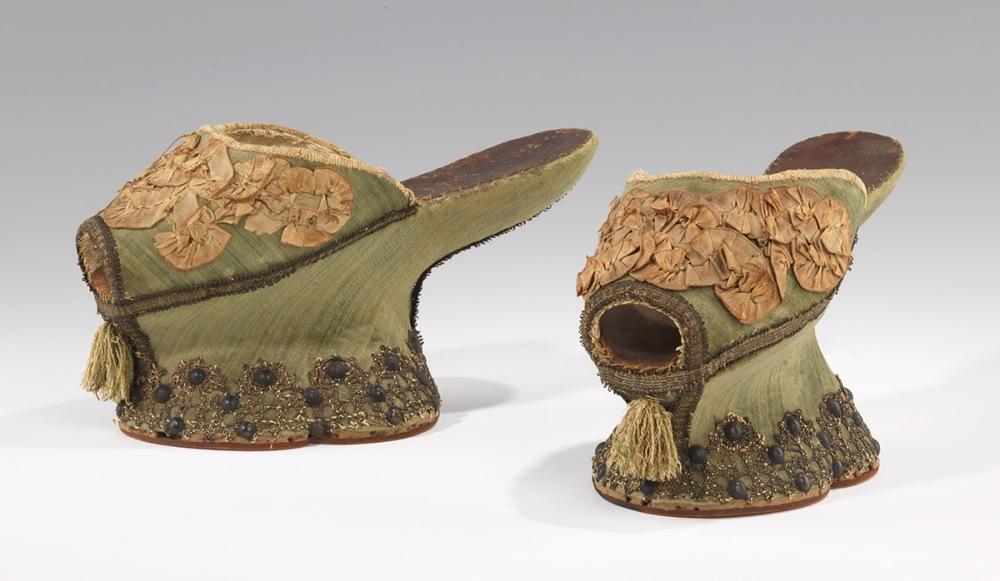 Chapines. Italia. 1550-1560. Metropolitan Museum. Nueva York.