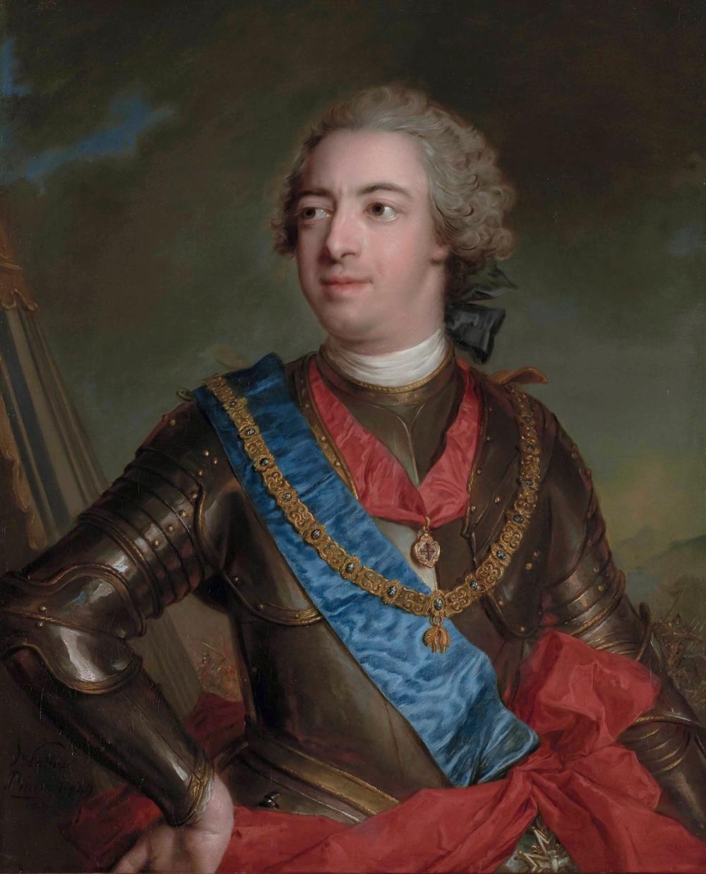 Jean-Marc Nattier. Fernando de Silva y Álvarez de Toledo. XII Duque de Alva y Duque de Huescar. 1749.