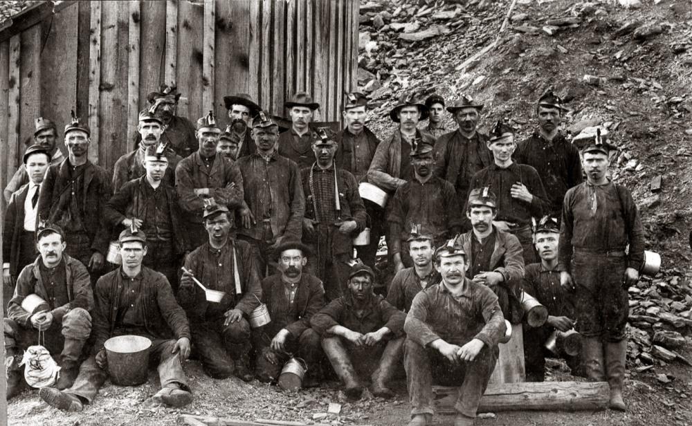 Mineros. EEUU.