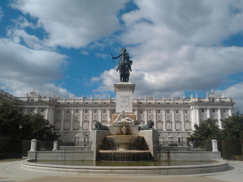 Palacio Real de Madrid.