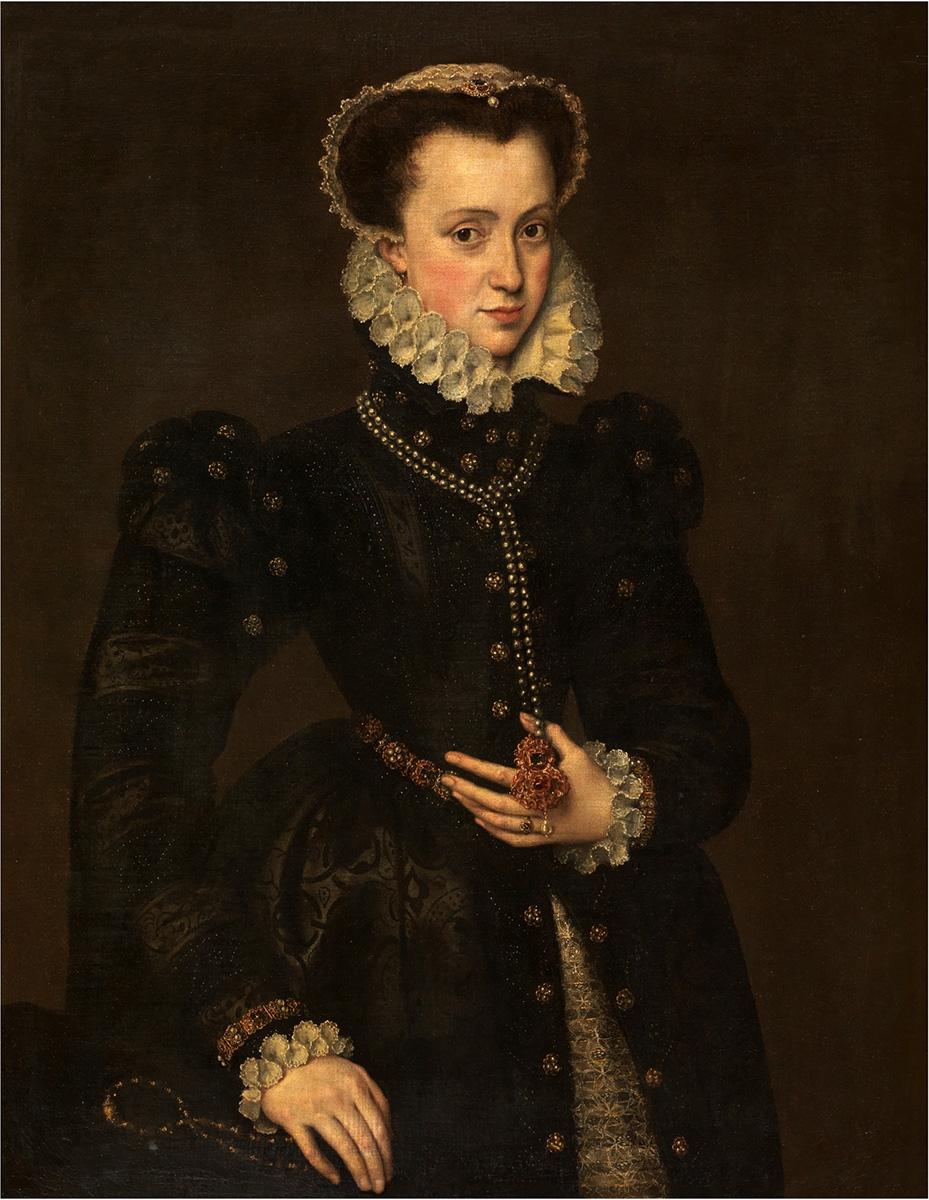 Antonio Moro. Retrato de dama. Hacia 1538. Museo Nacional del Prado.