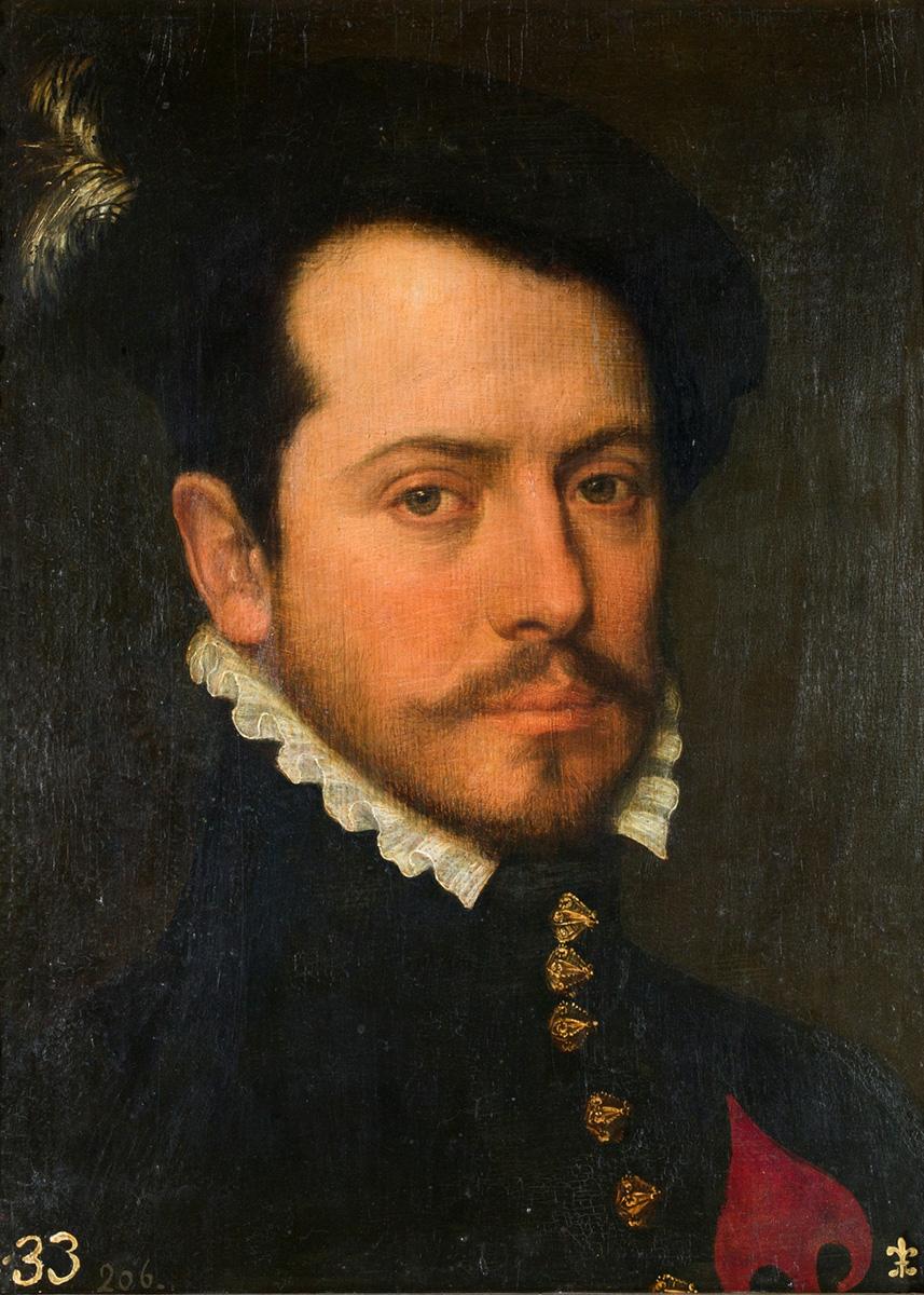 Bartolomé Gonzalez. Caballero de la Orden de Santiago. Siglo XVI. Museo Nacional del Prado.