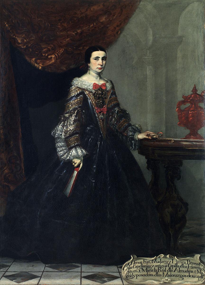 Claudio Coello. Doña Teresa Francisca Mudarra y Herrera. Hacia 1690. Museo de Bellas Artes de Bilbao