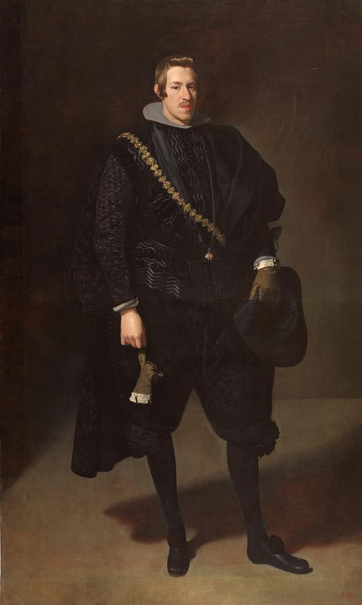 Diego Velázquez. El infante don Carlos. 1626-1627. Museo Nacional del Prado.