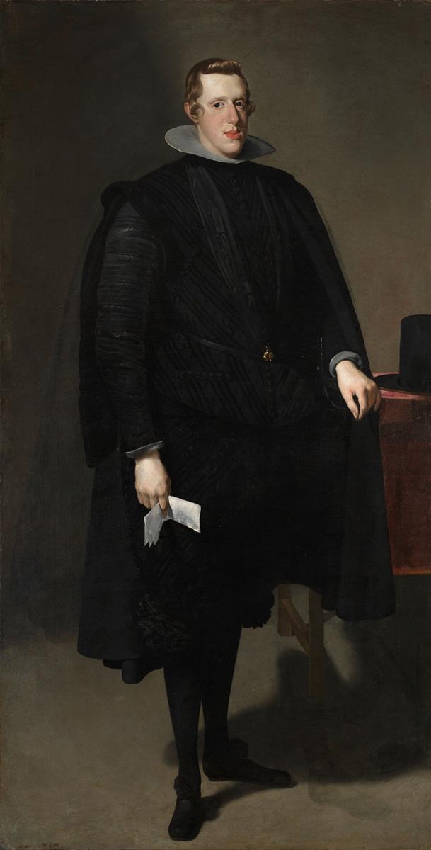Diego Velázquez. Felipe IV. 1628. Museo Nacional del Prado.