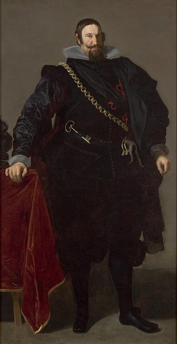 Diego Velázquez. Retrato del Conde-Duque de Olivares. 1624. Museo de Sao Paolo.