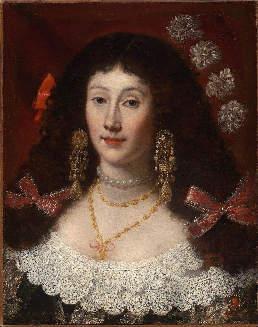 Juan Carreño de Miranda. Retrato de mujer. 1650.-1670. Museum of Fine Arts. Boston.