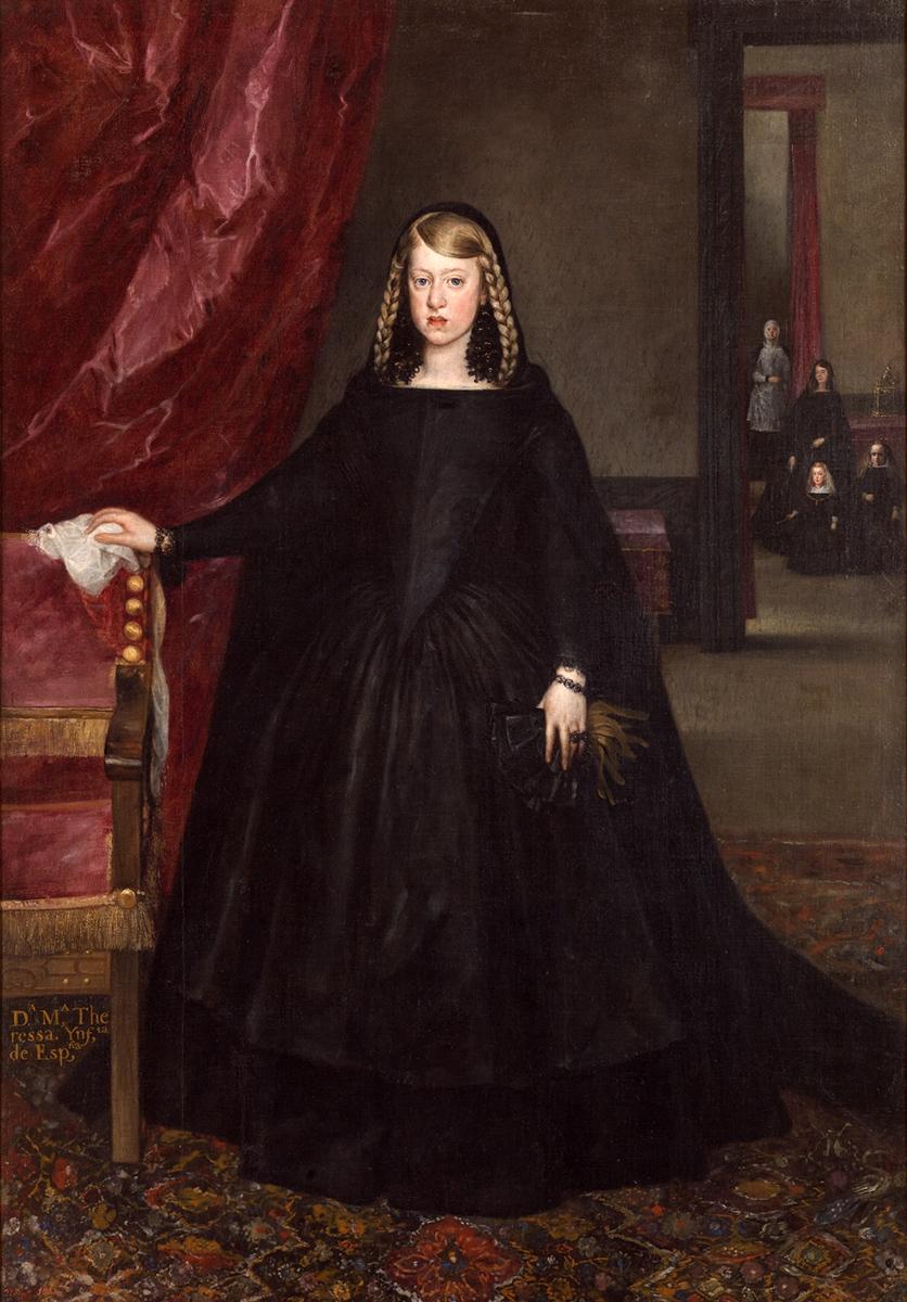Martinez del Mazo. Margarita de Austria. 1665-1666. Museo Nacional del Prado.