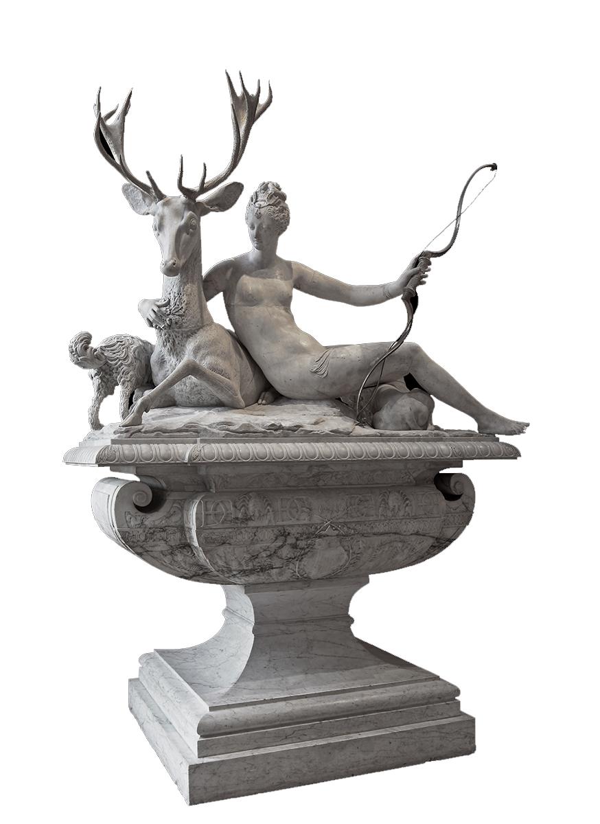 Pierre-Nicolas Beauvallet. Fuente de Diana. Hacia 1550. Museo del Louvre.