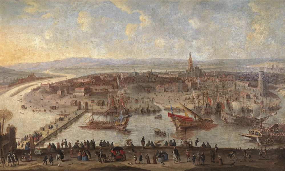 Anónimo. Vista de Sevilla. Hacia 1660. Fundación Focus Abengoa. Sevilla.
