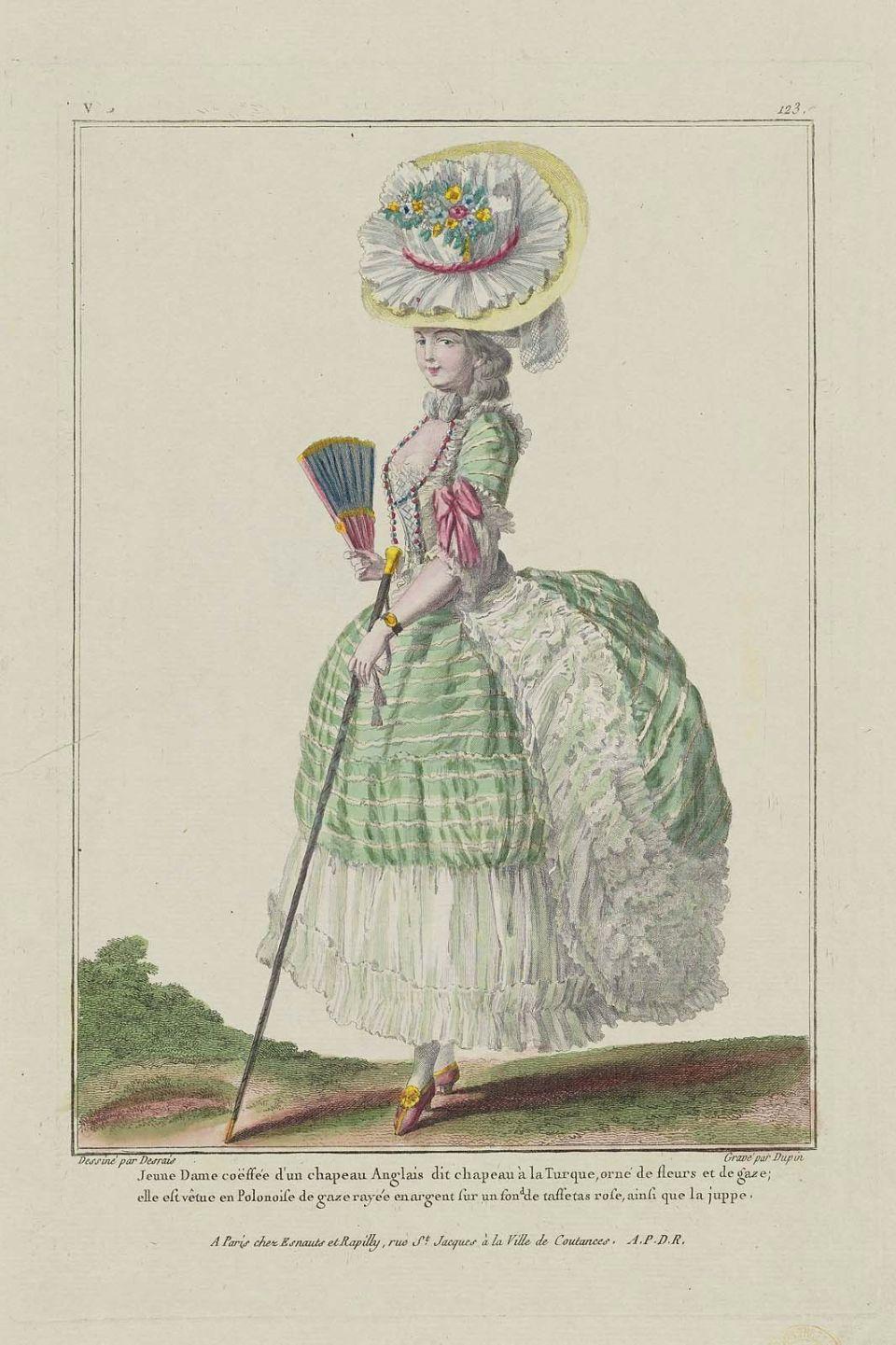 Galerie de Modes et Costumes Français. 1779.