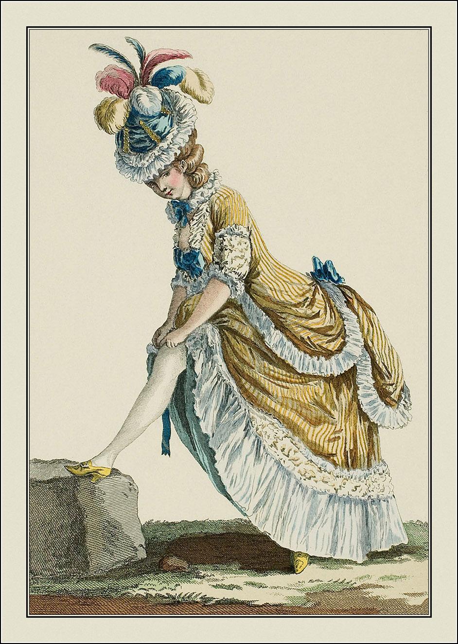 Galerie des Modes et Costumes Français. 1778-1787.