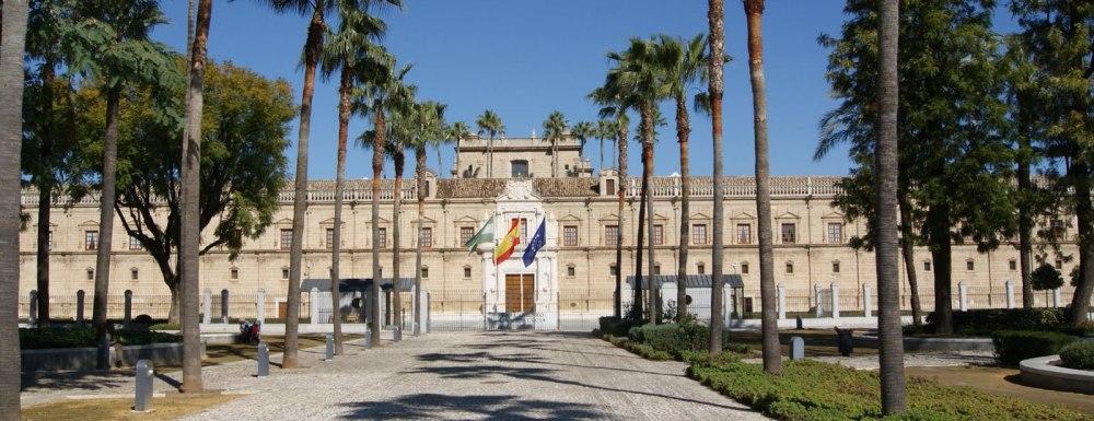 Martín de Gainza. Hospital de las Cinco Llagas de Nuestro Redentor, también conocido como hospital de la Sangre. 1500. Sede del Parlamento de Andalucía. Sevilla.