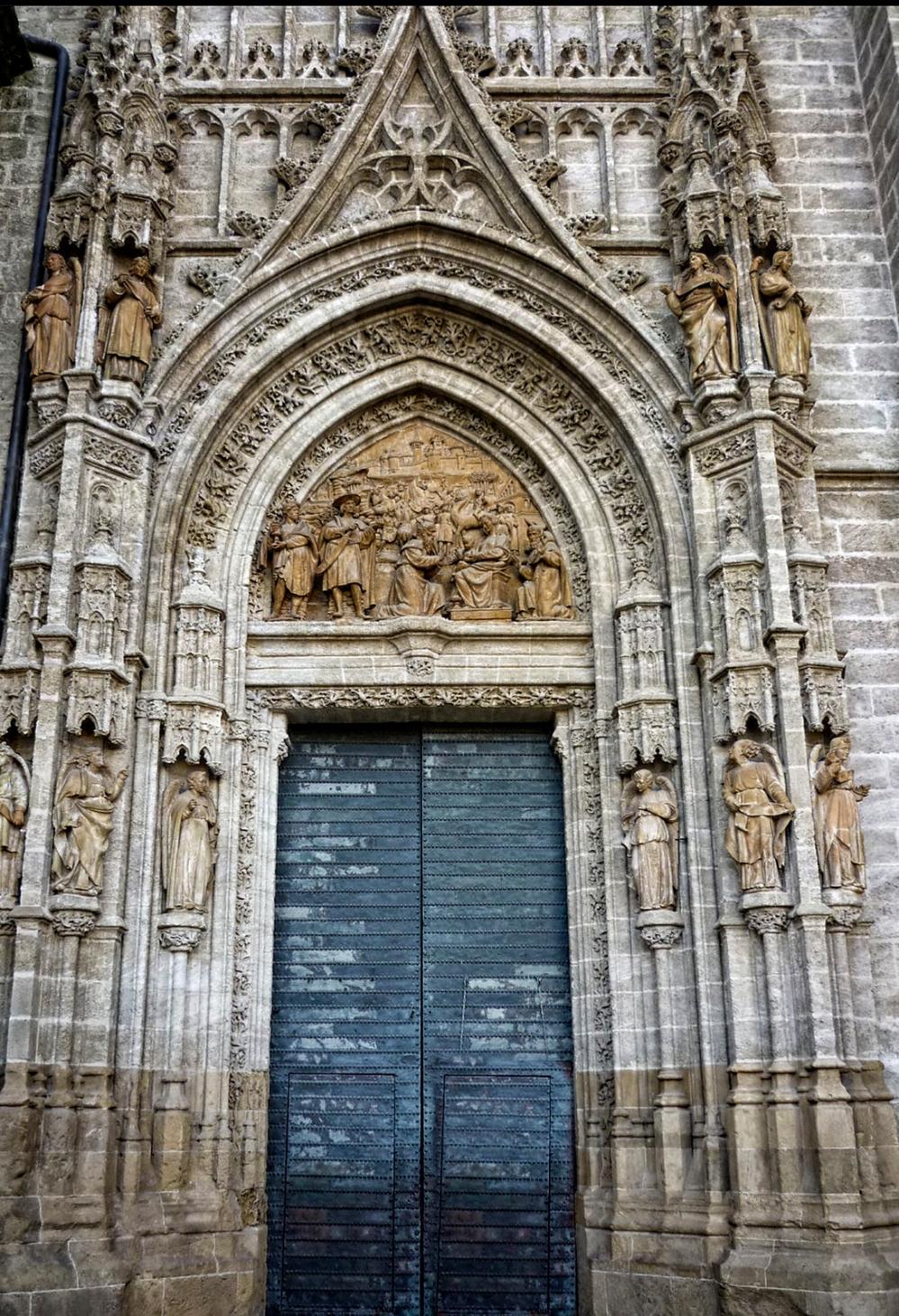 Puerta de Palos. Catedral de Sevilla.