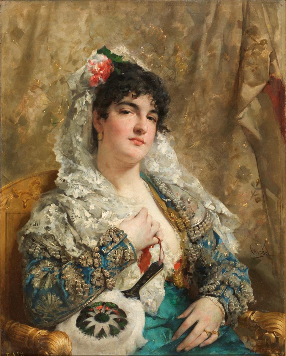 José Casado del Alisal. La Tirana. Hacia 1875. Museo Nacional del Prado.