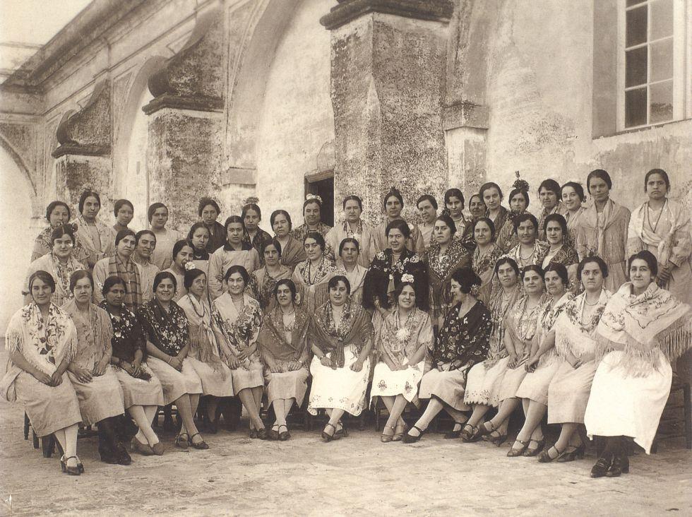 Cigarreras. Sevilla. 1920.