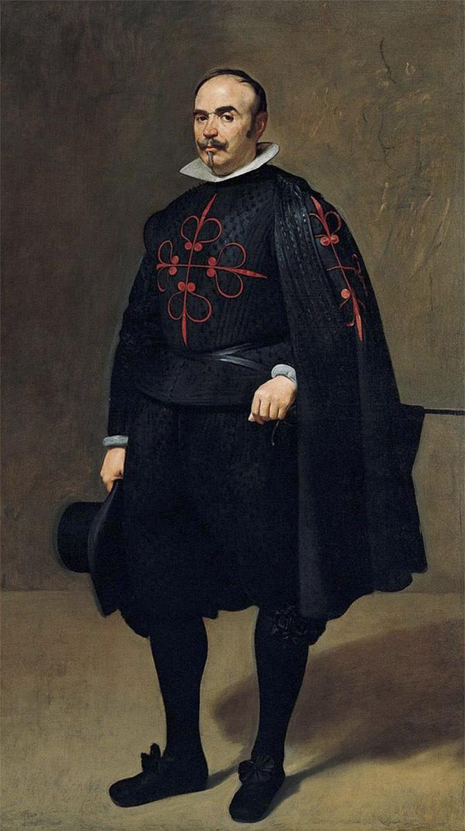 Diego Velázquez. Don Pedro de Barberana y Aparregui. Hacia 1631-1633. Kimbell Art Museum. Fort Worth. Texas.