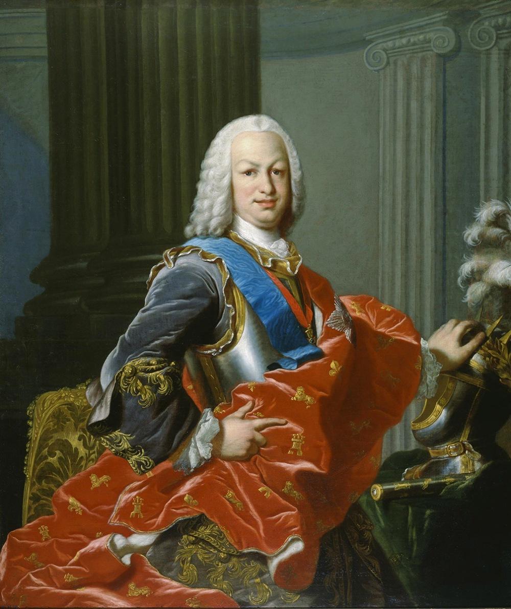 Lous-Michel van Loo. Fernando VI de España. Museo Nacional del Prado. Madrid.