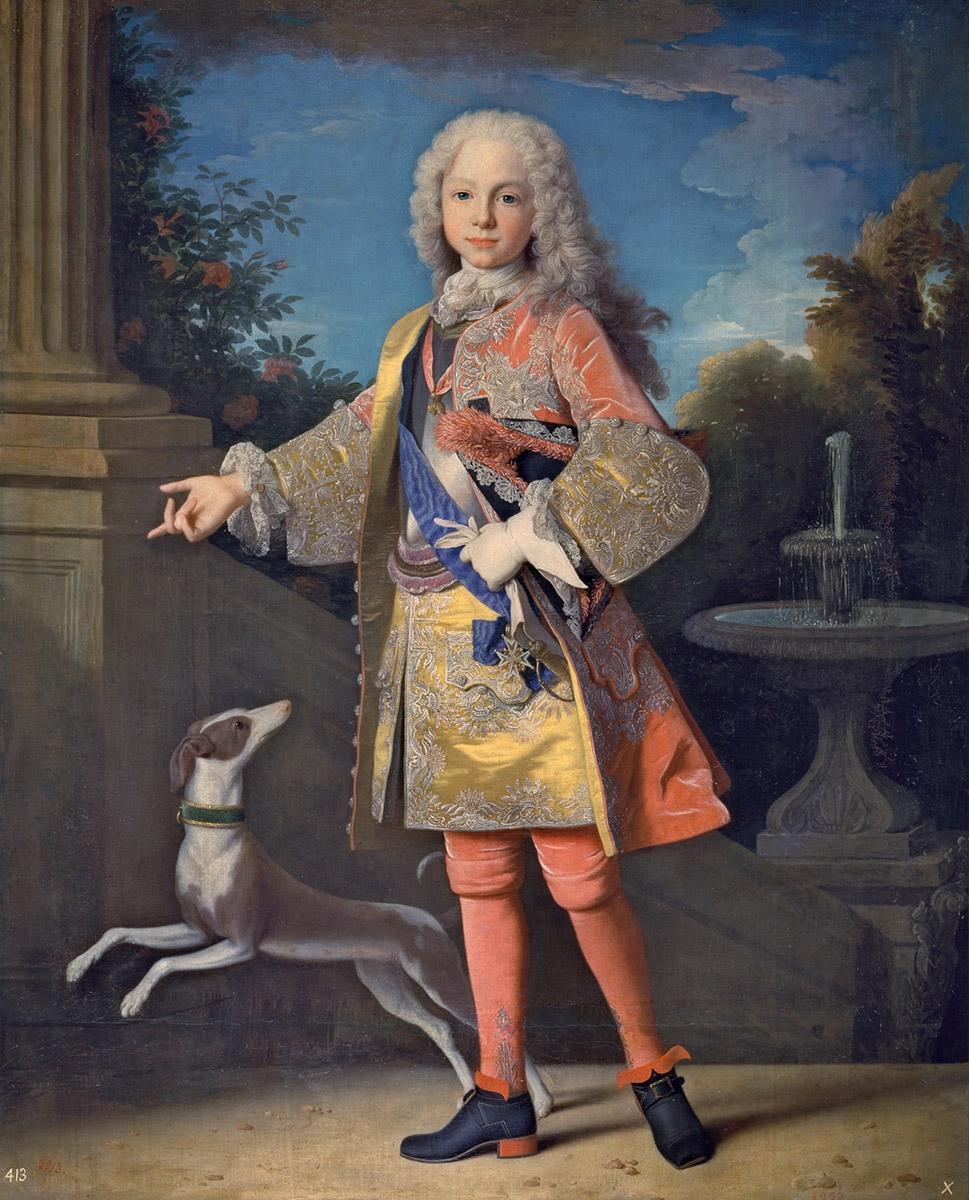 Jean Ranc. Fernando VI niño. Hacia 1723. Museo Nacional de Prado. Madrid.