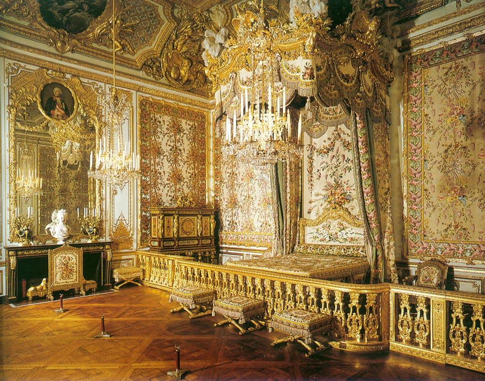Habitación de la Reina. Versalles.