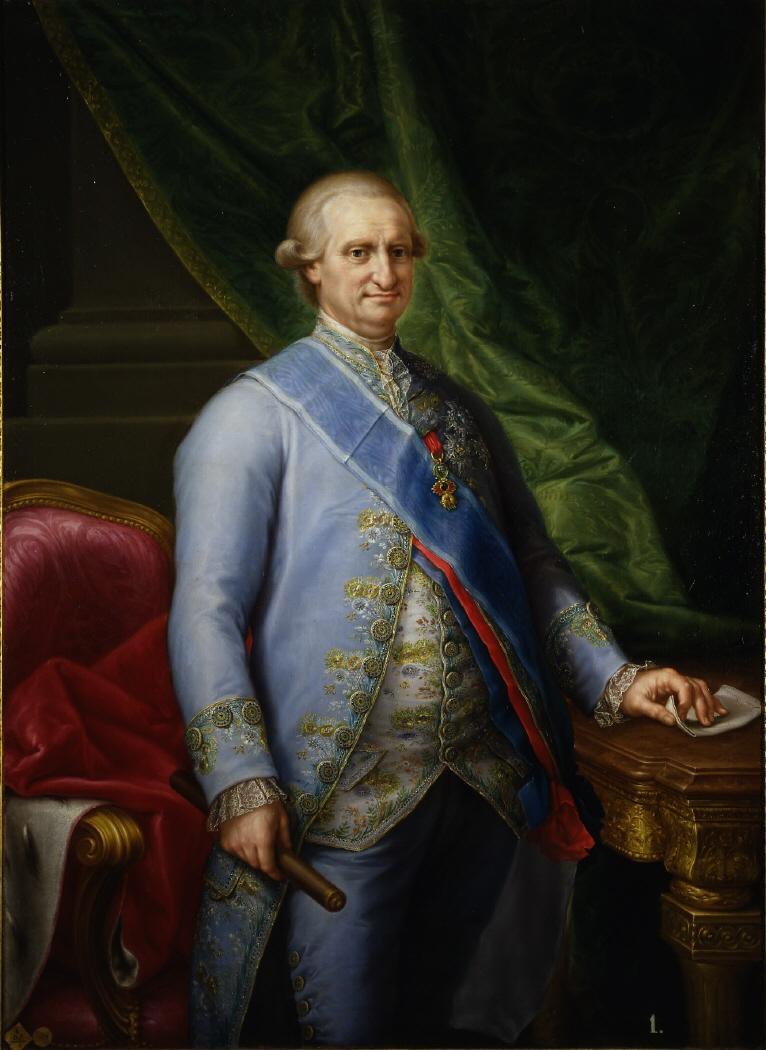 Francisco Bayeu. Carlos IV. 1790. Real Academia de Bellas Artes de San Fernando. Madrid.