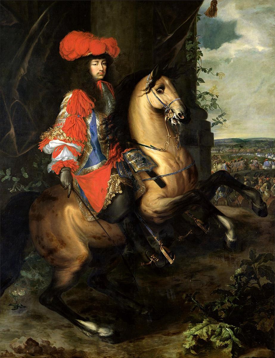 Charles Le Brun y Adam Frans van der Meulen. Siglo XVII. Museo de Bellas Artes de Tournai. Francia.