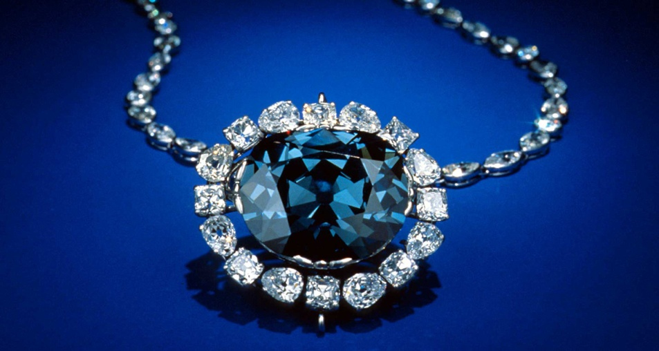 Diamante Hope. Smithsonian Museum. Washington.