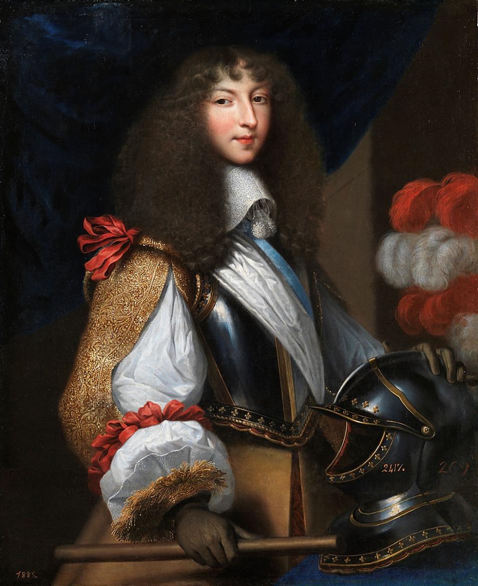 Jean Nocret. Luis XIV, joven. 1655. Museo Nacional del Prado. Madrid.