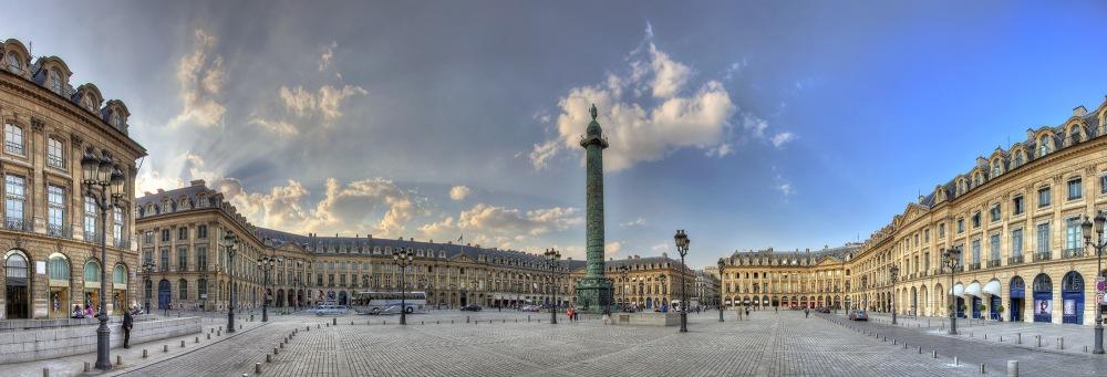 Place Vendôme. París