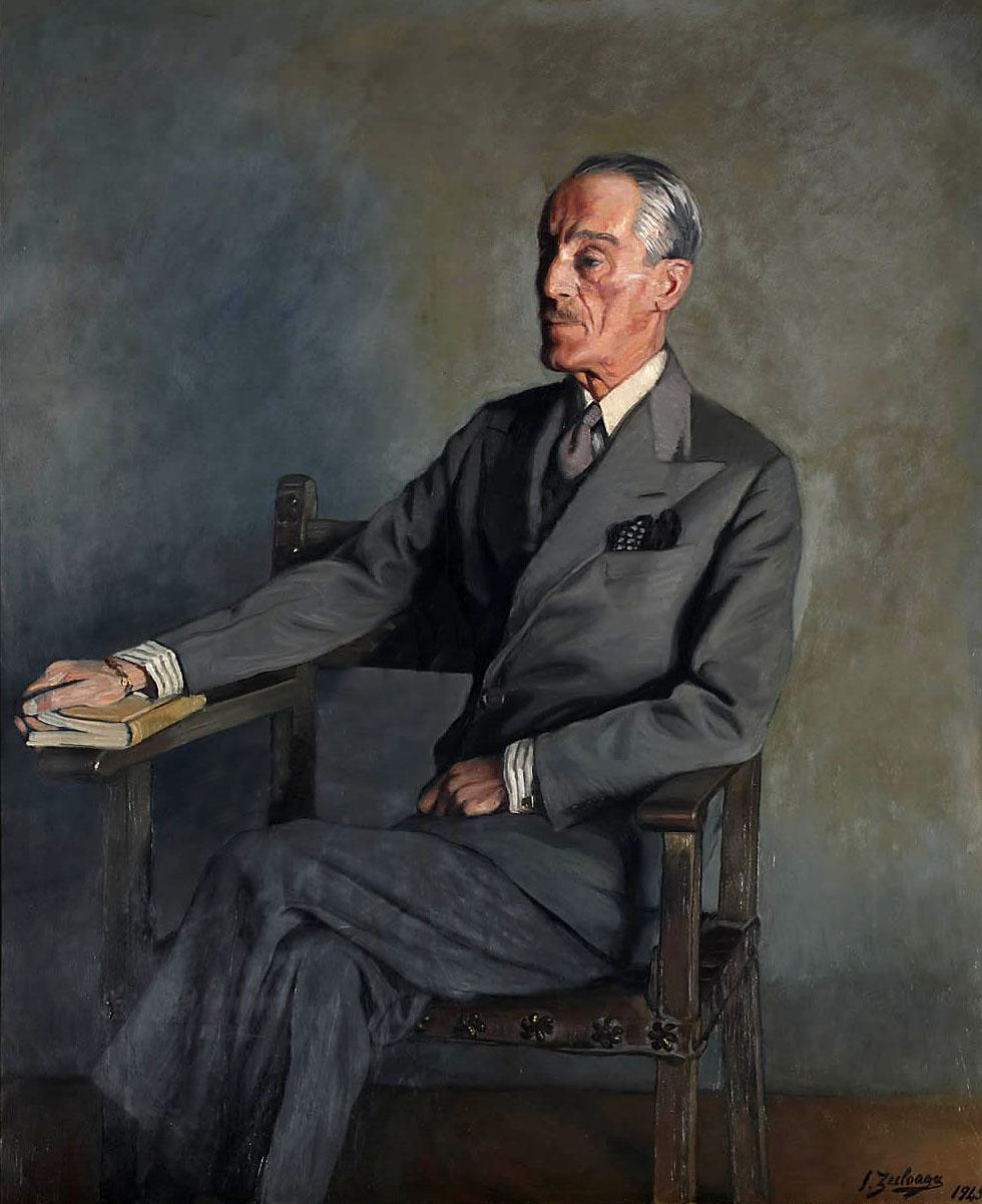 Ignacio Zuloaga. Don Jacobo Fitz-James Stuart, XVII duque de Alba. Palacio de Liria. Madrid