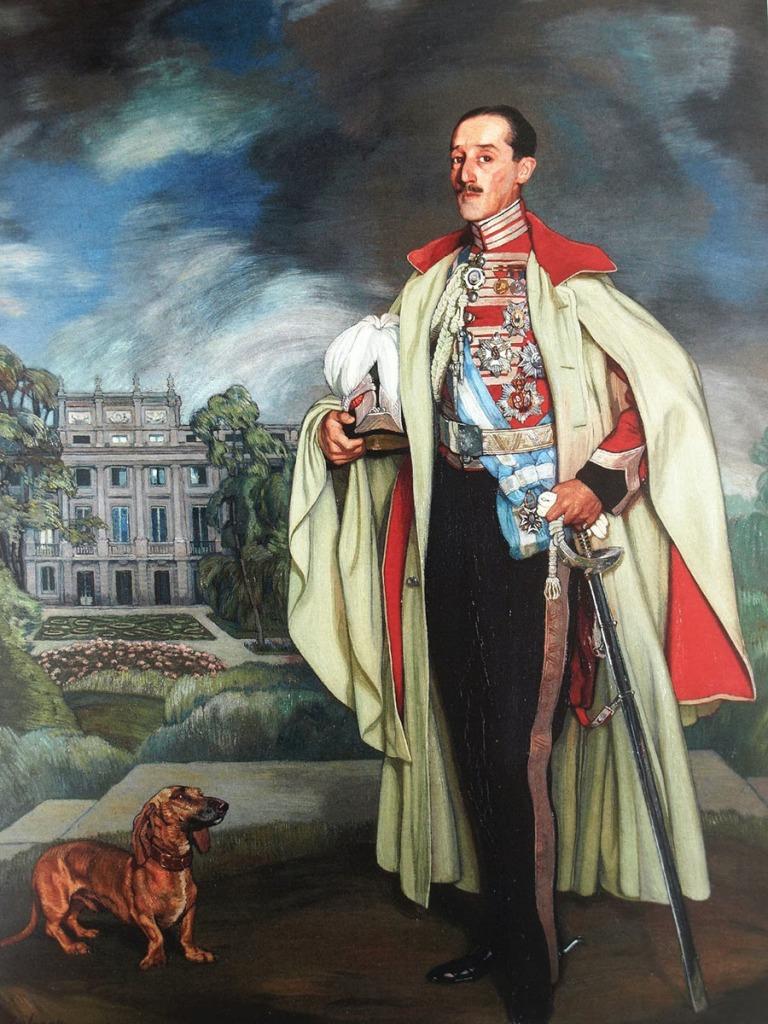 Ignacio Zuloaga. Retrato del XVII Duque de Alba. 1918.
