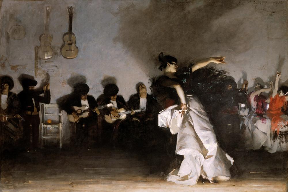 John Singer Sargent. El jaleo. 1882. Isabella Stewart Gardner Museum. Boston.