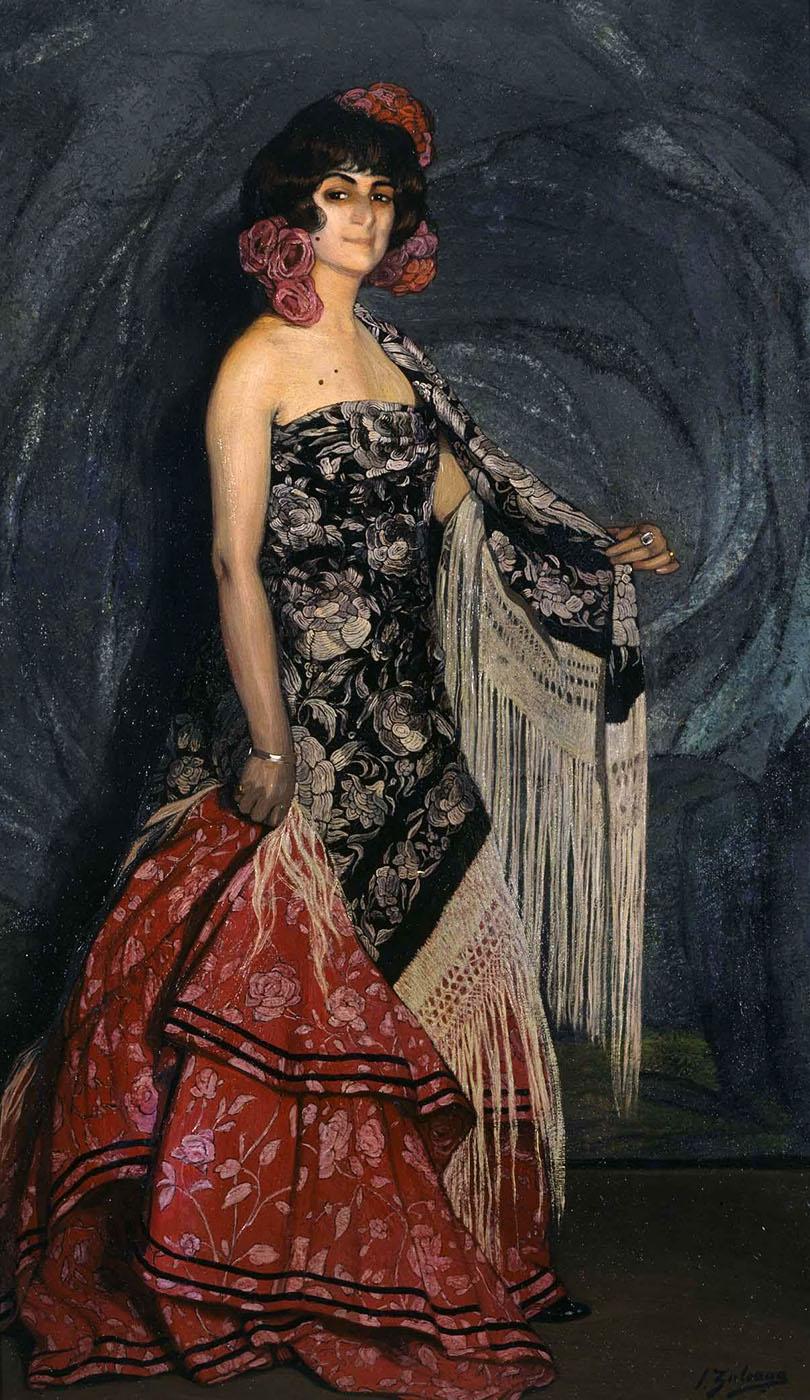 Ignacio Zuloaga. Bailarina. 1912. Museo Nacional Centro de Arte Reina Sofía. Madrid.